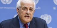 منصور: بدأنا مشاورات في مجلس الامن للتصدي للإعلان الاميركي بشأن المستوطنات