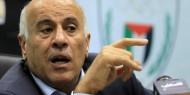 لقاء اللواء جبريل الرجوب امين سر اللجنة المركزية لحركة فتح مع قناة الجزيرة القطرية .