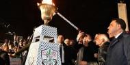 """الرئيس يوقد شعلة الانطلاقة الـ53 لحركة """"فتح"""" والثورة الفلسطينية"""