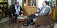 لقاء الأخ / أحمد حلس ابو ماهر - عضو اللجنة المركزية لحركة فتح حول بعض الملفات التنظيمية والوطنية .