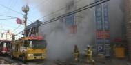 إصابة 5 أشخاص جراء حريق ضخم بمصفاة نفط في إندونيسيا