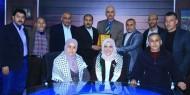 إقليم غرب خانيونس يزور تلفزيون فلسطين