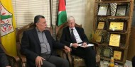 الأخ حلس يستقبل جيمس داونر نائب القنصل البريطاني العام في غزة