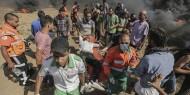 استشهاد مواطن واصابة العشرات خلال قمع الاحتلال للمسيرات السلمية الأسبوعية شرق قطاع غزة