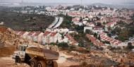 قرار إسرائيلي بمد خطوط مياه بين المستوطنات فوق اراضي المواطنين جنوب نابلس
