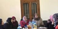 """"""" المرأة الفتحاوية"""" تعقد اجتماعا بغرب غزة وآخر مع النوع الاجتماعي باتحاد العمال"""
