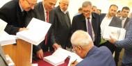 اشهار كتاب دبلوماسية الحصار للدكتور صائب عريقات