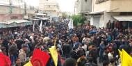 حركة فتح اقليم الشرقية تودع شهيدها  انور محمد قديح وسط حشد جماهيري كبير