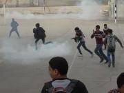 """إصابات بالاختناق إثر قمع الاحتلال مسيرة سلمية منددة بـ""""صفقة القرن"""" في مخيم العروب"""