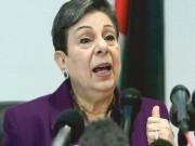 عشراوي: مسلسل الاعدامات المتصاعد يتطلب وضع حد لجرائم الاحتلال