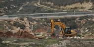 مستوطنون يجرفون أراضي جنوب نابلس وكلابهم تهاجم رعاة أغنام في الأغوار