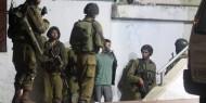 الاحتلال يعتقل عشرة مواطنين من الضّفة