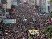 هونغ كونغ: مظاهرة مليونية تطالب باستقالة الرئيسة