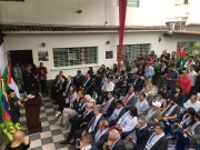 فتح في فنزويلا تنظم فعالية رافظة لصفقة القرن وورشة المنامة