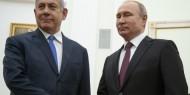 بوتين ونتنياهو يبحثان الأوضاع في سورية وإيران