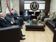 الأحمد يبحث مع قائد الجيش اللبناني أوضاع المخيمات الفلسطينية