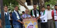 حركة فتح اقليم الشرقية و الشبيبة الفتحاوية  تكرم الفائزين في المارثون الرياضي بمدرسة المتنبي.