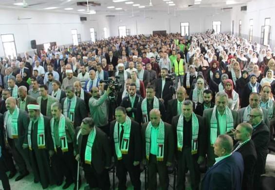المعاهد الأزهرية في فلسطين تحيي  ذكرى المولد النبوي الشريف