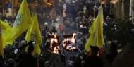 """""""فتح"""" توقد شعلة انطلاقتها من أمام الحرم الإبراهيمي الشريف"""