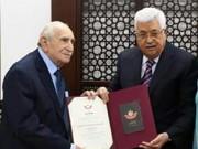 الرئيس ينعى المناضل الكبير محمد زهدي النشاشيبي