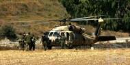 هبوط اضطراري لمروحية عسكرية جنوب بيت لحم