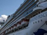 ارتفاع الاصابات على متن السفينة السياحية قبالة اليابان الى 355