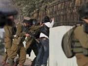 اعتقال شابين خلال مواجهات مع الاحتلال في العرقة