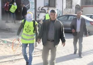 فتح في شمال غزة تبدأ حملة تعقيم لبعض المحلات والشوارع مساهمة في الوقاية من الوباء .