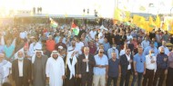 حركة فتح باقليم القدس تنظم مهرجان حاشد ضد التطبيع