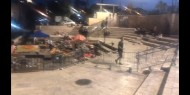 لتأمين مسيرات المستوطنين: الاحتلال يغلق باب العامود وعدة احياء في القدس الأحد